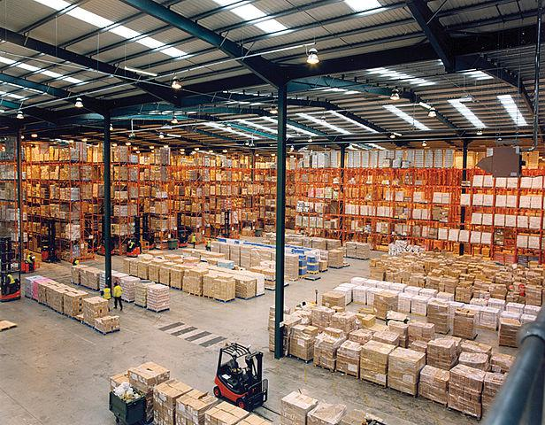 Modern Warehouse with Wi-Fi HaLow