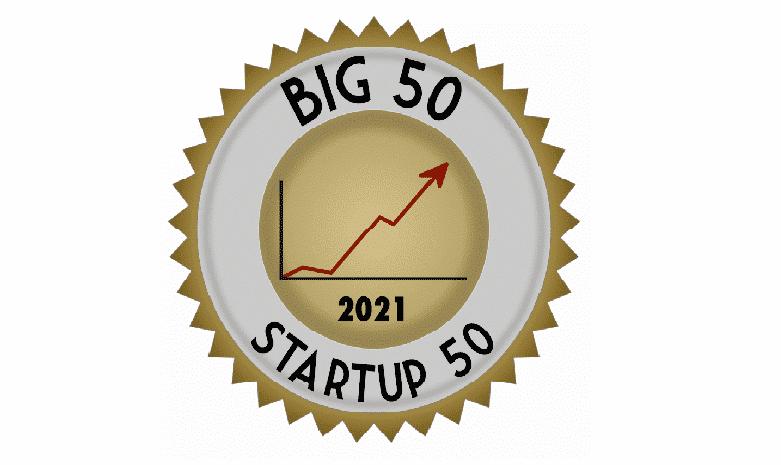 Startup50 badge
